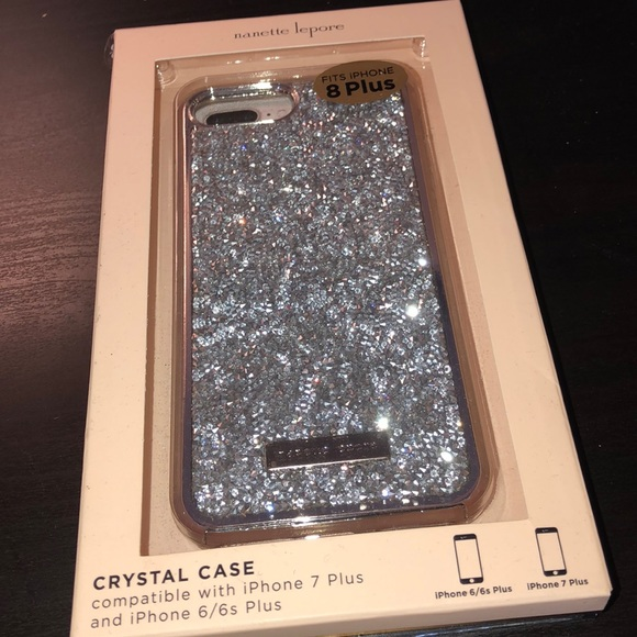 brand new 78a27 d8ab7 Rhinestone iPhone 8 Plus phone case